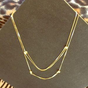 Pretty Adjustable Faux Gold Necklaces